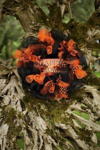 Happy Halloween Black and Orange
