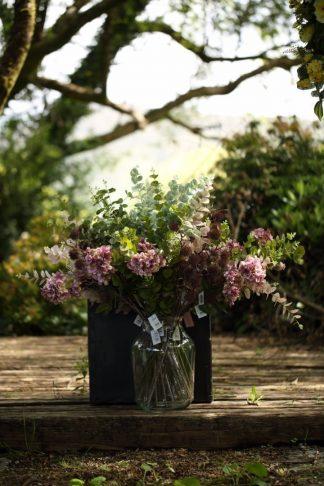 Vase of flowers Dusky Pinks