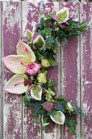 Crescent Siofra Peony and Anthurium
