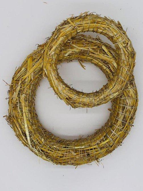 bound Straw Wreath Ø 40 cm